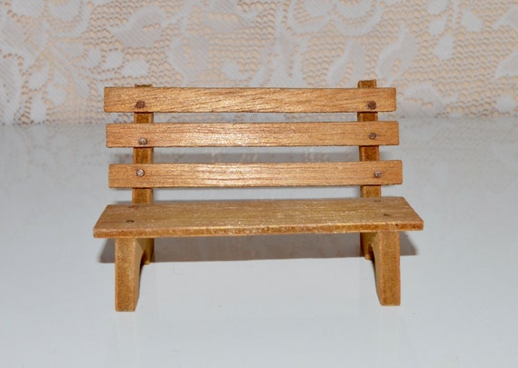 Wood Park Bench Wooden Bench Supplies Small Bench Chair Craft