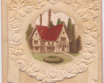 Signed. Antique Birthday Greeting Card -- 1910?