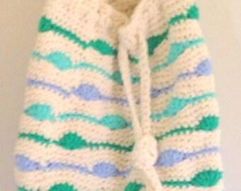SHELL BEACH BAG Tote Crochet handmade bag