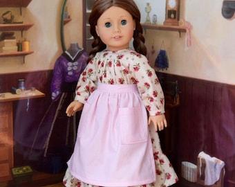 Prairie Rose Dress Set for Kirsten or 18 inch doll