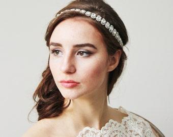 Crystal Headband Bridal Wedding Accessories