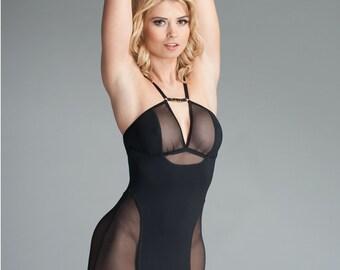 Black Mini Dress - Womens Mini Dress - Sexy Mini Dress
