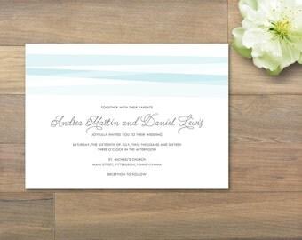 Printable Wedding Invitation - Sharon Collection