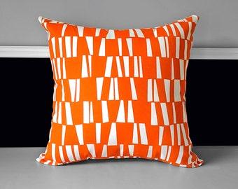 "SAMPLE Pillow Cover - Sticks Orange, 20"" x 20"""