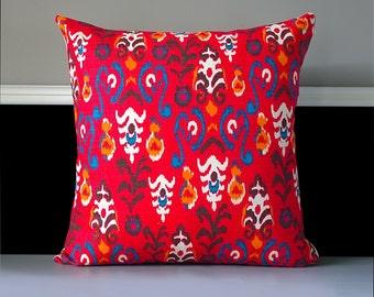 "Pillow Cover - Neda Birch Poppy 20"" x 20"""