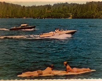 Vintage Lake Arrowhead California Postcard 1950s-1960s