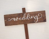 Wedding Sign, rustic wedding sign, personalized, custom wooden sign,