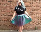 Oil Slick Circle Skirt
