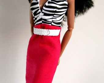 Hot Pink for Barbie Silkstone Fashion Royalty Dolls