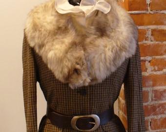 Vintage Fox Fur Collar Gorgeous