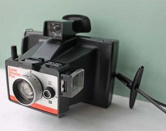Polaroid Super Shooter Plus Camera, Polaroid Land Camera, Vintage Camera