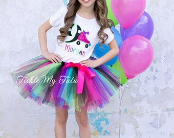 Roller Skate Themed Birthday Tutu Outfit-Skating Party Birthday Tutu Set-Roller Skate Party Outfit *Bow NOT Included*