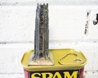 Architectural miniature the singing tower florida vintage metal model souvenir