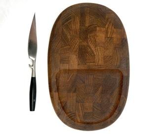 Vintage Dansk Serving Board and Dansk Cheese Knife