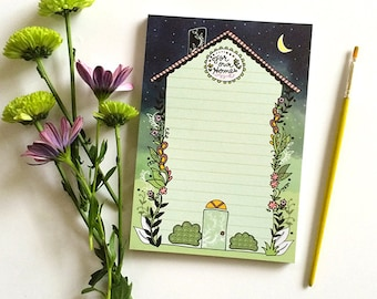 Home Notepad, For our home notes, House Notepads