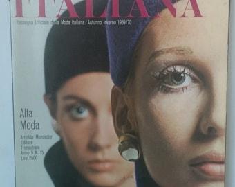 Linea Italiana Fashion Magazine 1969/70
