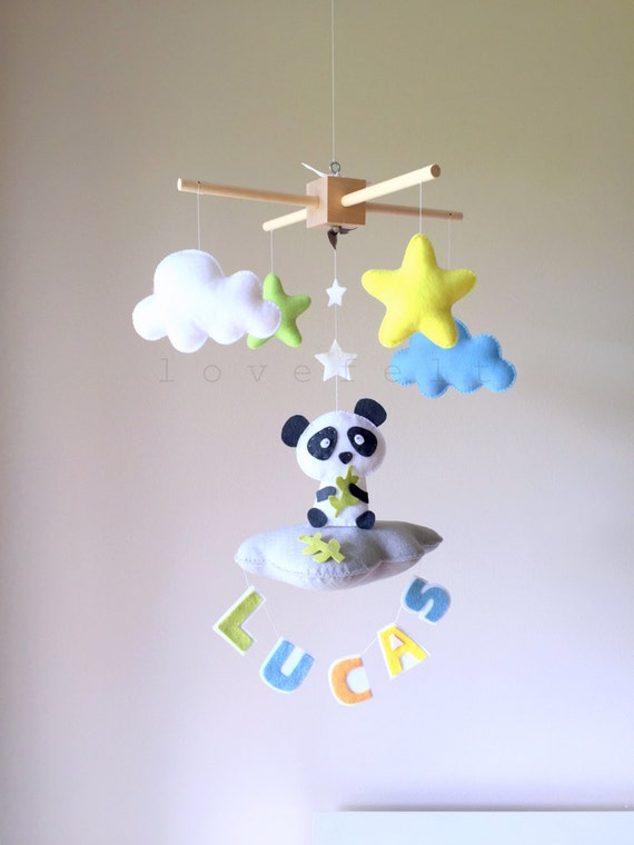 Baby Mobile - Baby crib mobile - custom mobile - name mobile