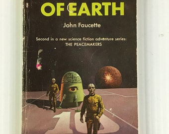 Siege of Earth by John Faucette - Vintage Paperback 1971 Science Fiction