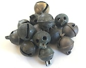 LOT OF 4 Antique Brass Sleigh BellS