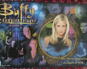 Buffy the Vampire Slayer Board game 90's TV Show Game Buffy Game