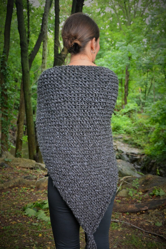 Knitting Pattern For Outlander Shawl : Outlander Knit Shawl / Claires Gray Wrap
