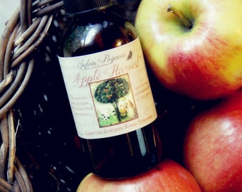 Natural room spray - air freshener mist - Limited Edition APPLE HARVEST Room Perfume - corset, lingerie, linens deodorizer - essential oils