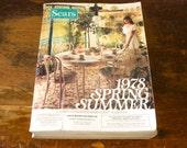 Vintage 1978 SEARS Catalog Spring / Summer Sears, Roebuck and Co. Store Catalog / Wish Book Disco Era 70s Fashion & Furniture