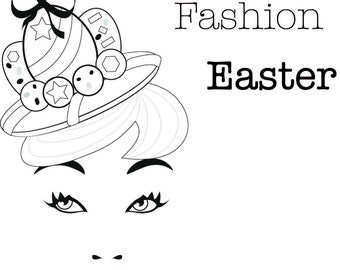 Happy Fashion Easter - Cards