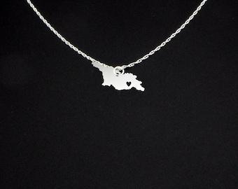 Georgia Necklace - Georgia Jewelry - Georgia Gift