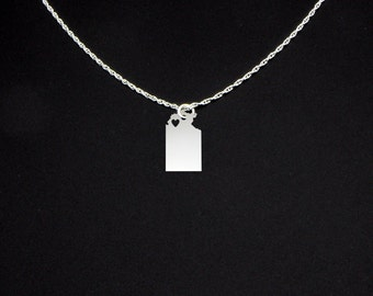 Northern Territory Necklace - Northern Territory Jewelry - Northern Territory Gift