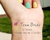 Bridal/ Hen Party Ring Temporary Tattoo