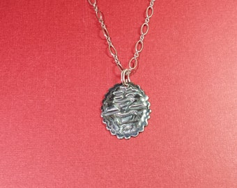 Fine Silver Joy Pendant Necklace