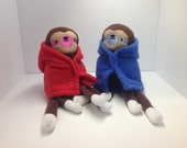 Sloth Fluffy Socks - Pepper & Clacker - Plush
