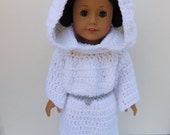 Star Wars Princess Leia Inspired Dress for American Girl Dolls
