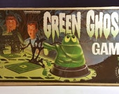 1960s Green Ghost Game by Transogram - Complete in Box - With Instructions - Awesome Cult Classic - Pop Culture Vintage Toy