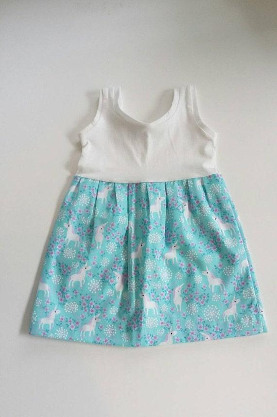 Unicorn Dress Baby Dress Boutique Dress Party by BigIslandKidz