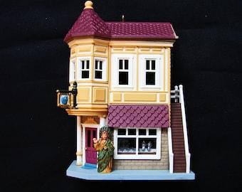 Hallmark Ornaments 1994 Hallmark Christmas Ornaments Nostalgic House Neighborhood Drugstore Miniature House
