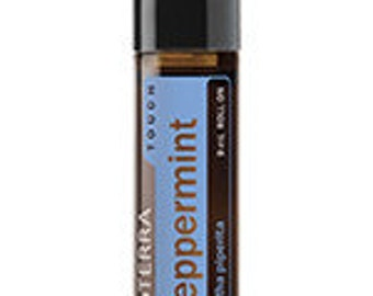 doTerra, Peppermint Touch, Essential Oil Blend, 9mL bottle, Roll On, Essential Oils, Therapeutic Oils, travel size
