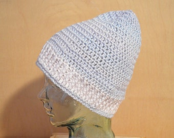 Adult Hat, Crochet Hat, Pastels and Iced Violet Hat, Adult Large