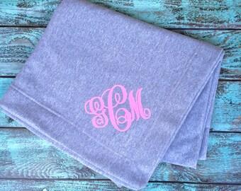 Monogrammed blankets, Monogram Blanket, Christmas gifts, Monogrammed gifts, Personalized gifts, Outdoor Wedding, Bridesmaid gifts