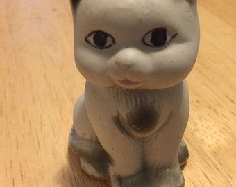 Hand Painted Ceramic Cat