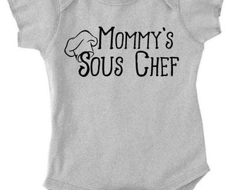 Mommy's Sous Chef - Daddy's Sous Chef - Customizable! For the foodie child