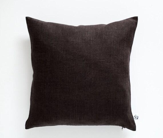 Brown Throw Pillows Chocolate Brown Pillow Brown Decorative