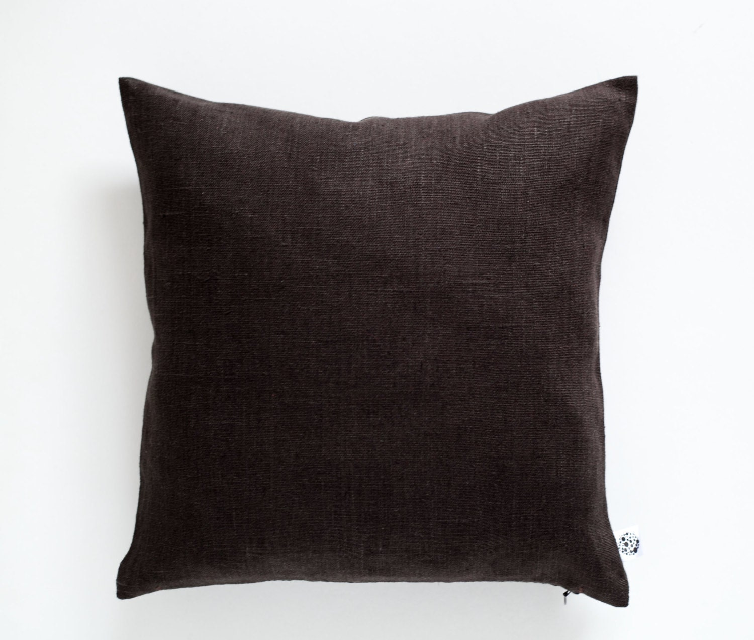 Decorative Pillow Brown : Brown throw pillows Chocolate brown pillow Brown decorative