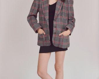 Pendleton Wool Plaid Blazer