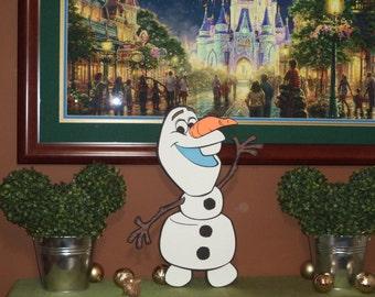23 inch tall Olaf cutout