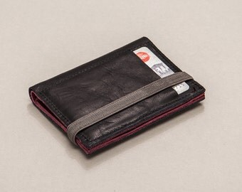 Leather Wallet, Handmade, Men's Wallets, Minimalist Wallet, Portemonnaie, Gift Ideas, For Him