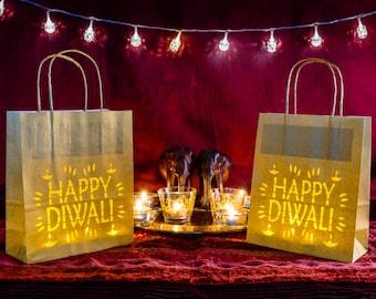 Happy Diwali Paper Lantern