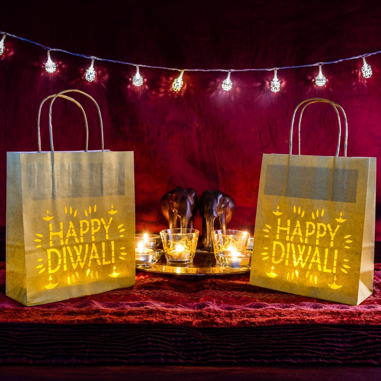 Diwali Lights Online Shop: Happy Diwali Paper Lantern
