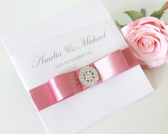 Wedding Invitation - The 'Annabel'
